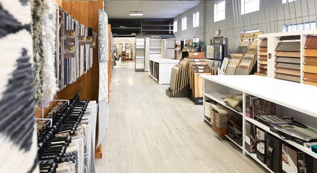 Kanter's Carpet and Design Center Showroom