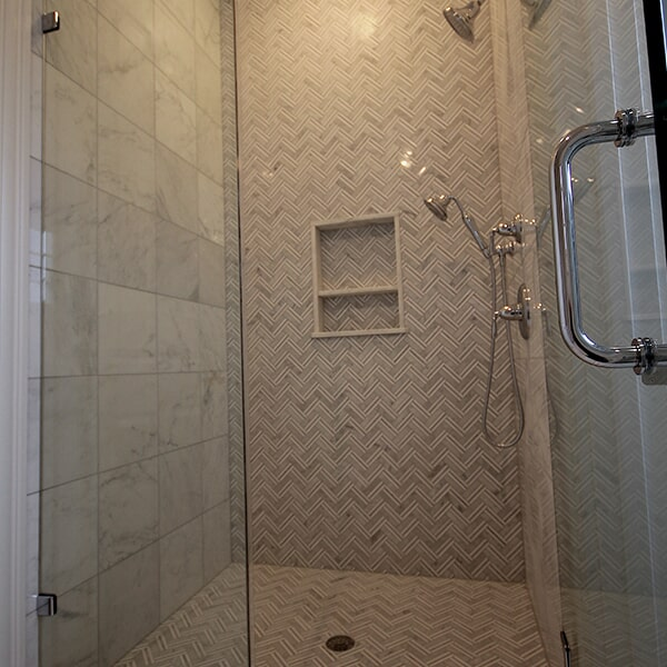 Bayswater Development - shower tiles in Bridgewater, MA from Paramount Rug Company