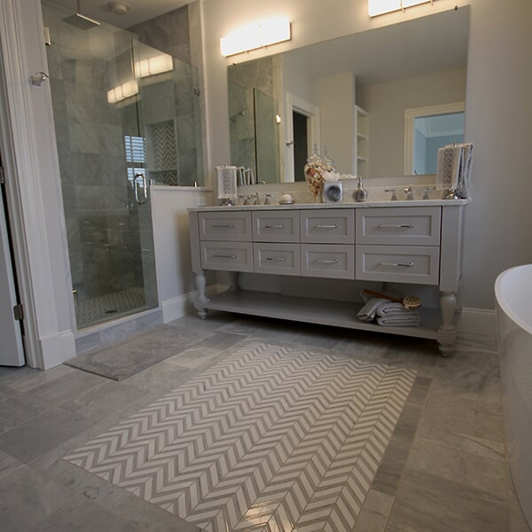 Bayswater Development - tile flooring in Franklin, MA from Paramount Rug Company