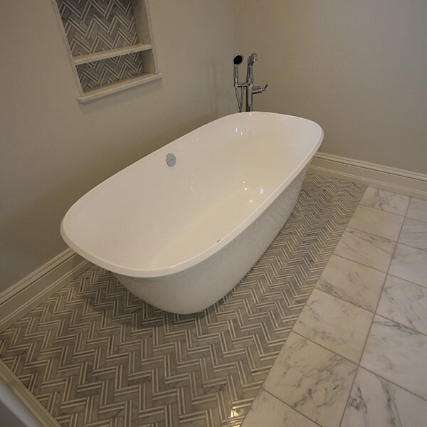 Bayswater Development - tile flooring in Brockton, MA from Paramount Rug Company