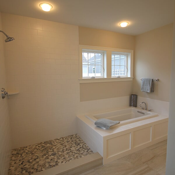Bayswater Development - shower tile in Franklin, MA from Paramount Rug Company