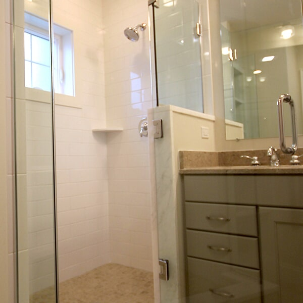 Bayswater Development - shower tile in Yarmouth, MA from Paramount Rug Company