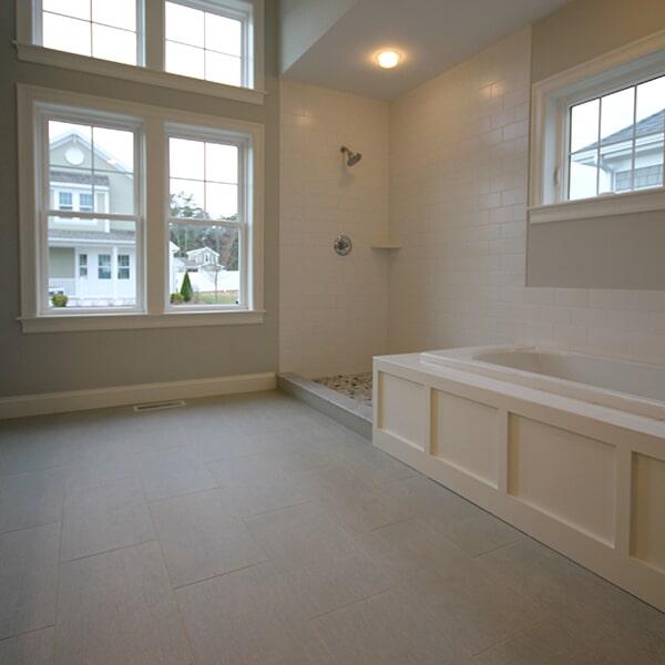 Bayswater Development - luxury vinyl flooring in Easton, MA from Paramount Rug Company