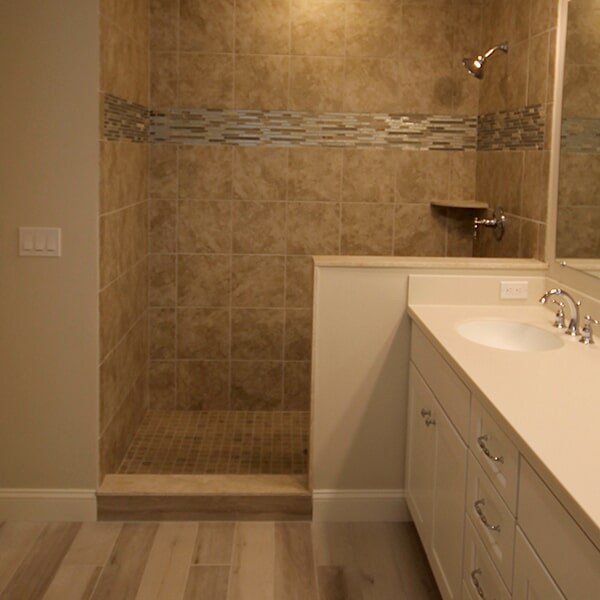 Bayswater Development - shower tiles in Franklin, MA from Paramount Rug Company