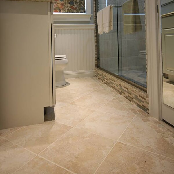 Cape Cod Cottage - tile flooring in Easton, MA from Paramount Rug Company