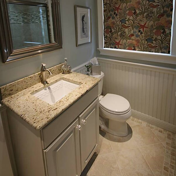 Cape Cod Cottage - tile floors in Mansfield, MA from Paramount Rug Company