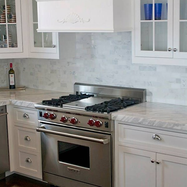 Carnegie Abbey - kitchen remodel in Sandwich, MA from Paramount Rug Company