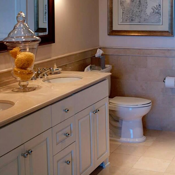 Carnegie Abbey - bathroom remodel in Bridgewater, MA from Paramount Rug Company