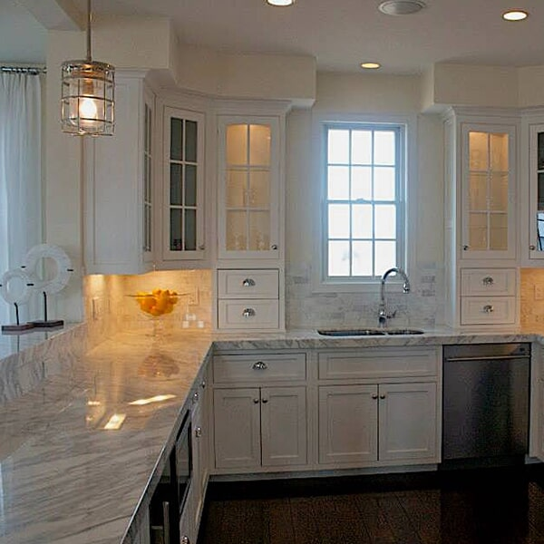 Carnegie Abbey - kitchen remodel in Easton, MA from Paramount Rug Company