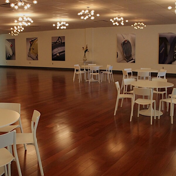 Newport Car Museum - hardwood flooring in Franklin, MA from Paramount Rug Company