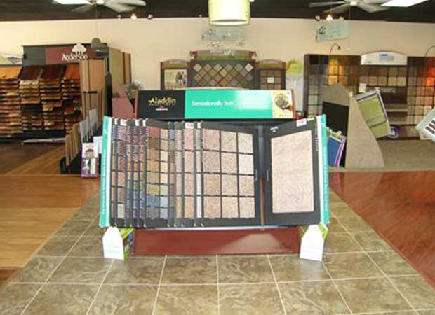 Flooring samples in The Villages FL from DCO Flooring