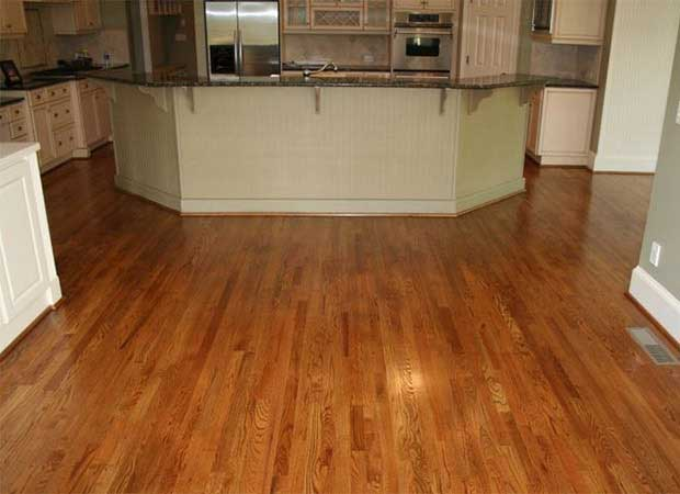Hardwood refinishing photos in Atlanta, GA from Bridgeport Carpets