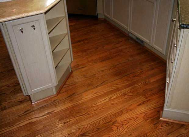 Hardwood refinishing photos in Norcross, GA from Bridgeport Carpets