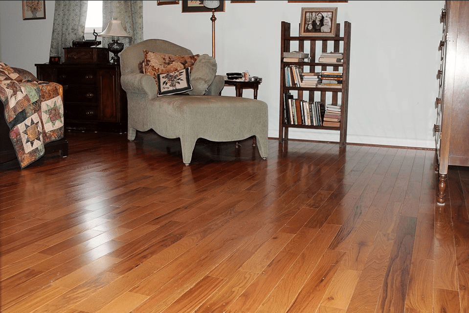 prefinished cabin grade butterscotch by somerset in Hickory NC from Munday Hardwoods