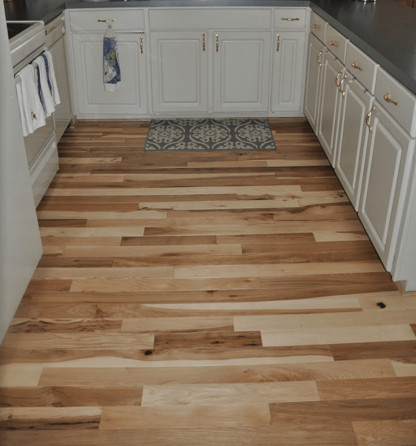 prefinished hickory by homerwood