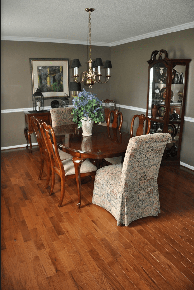prefinished gunstock cabin grade by somerset dining