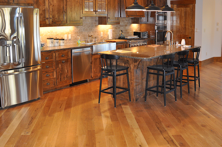 Unfinished #2 White Oak Natural wood floors near Lenoir NC