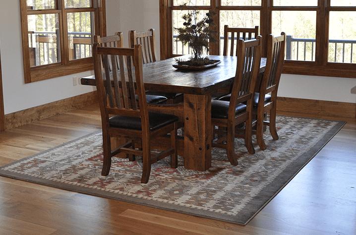 Unfinished #2 White Oak Natural hardwood flooring near Morganton NC
