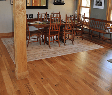 Unfinished White Oak #2 Common Natural Stain2