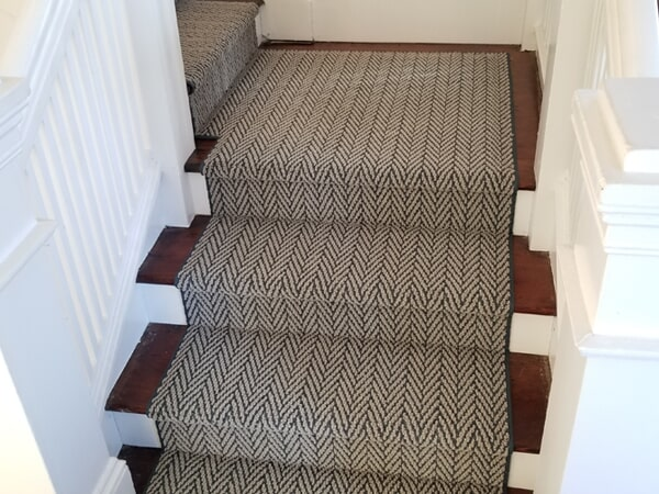 Stair Runner from Vogel's Carpets in Seattle, WA