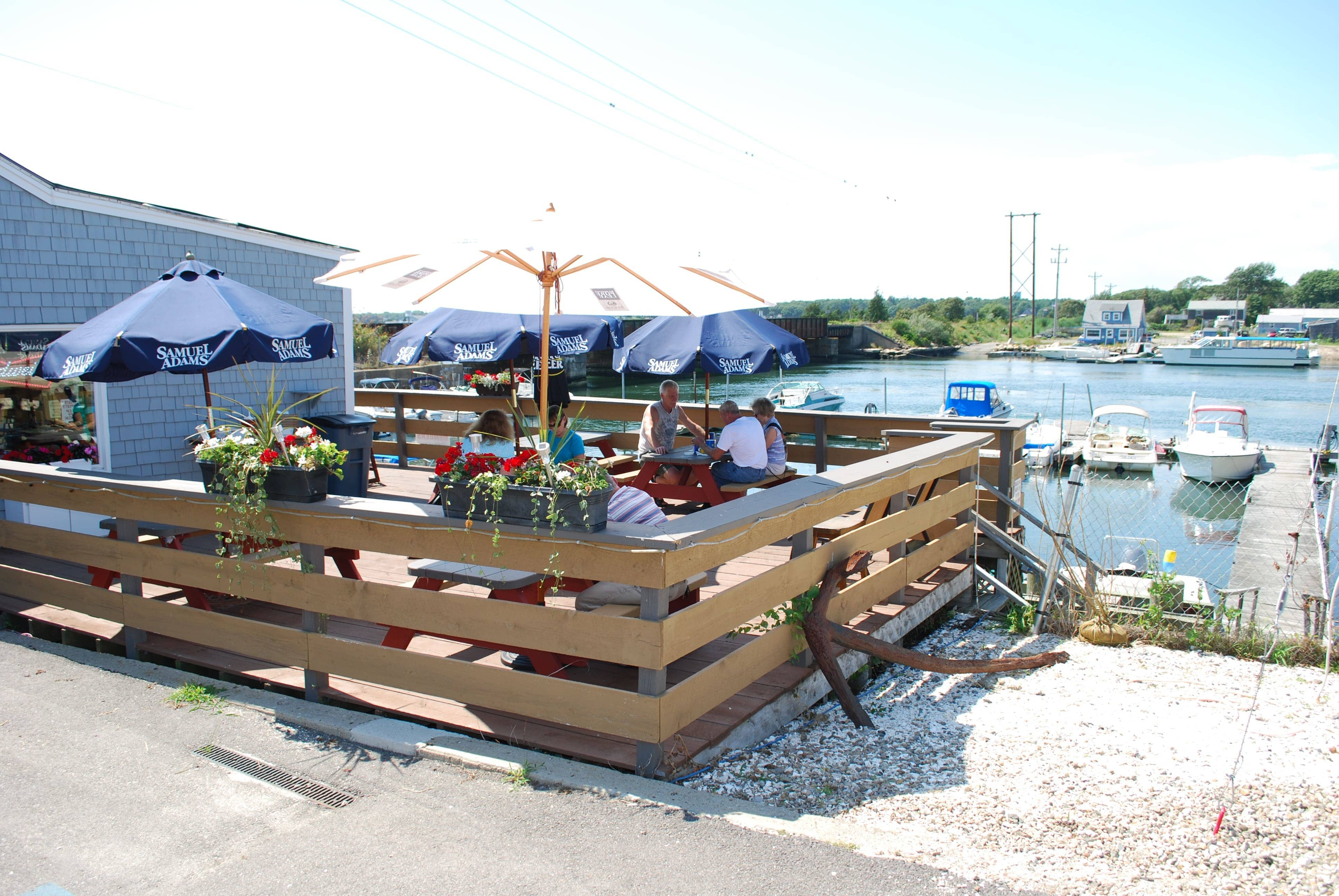 East Wind Lobster and Grille, Buzzards Bay Marina, Massachusetts