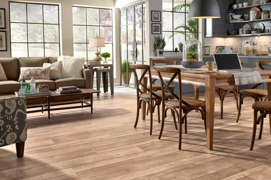 Wood look laminate flooring in Montclair, NJ from The Longest Yard