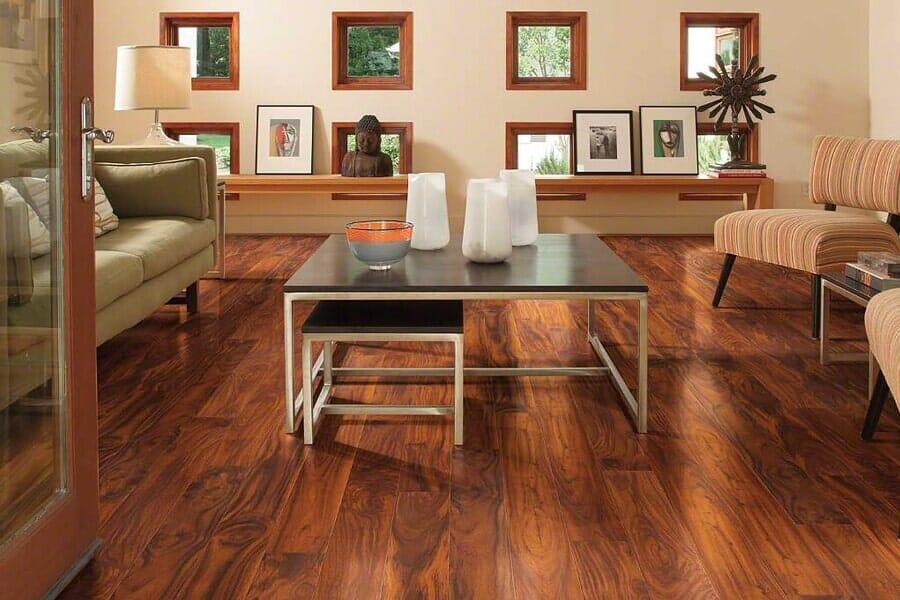 Laminate floor installation in Cedar Grove, NJ from The Longest Yard