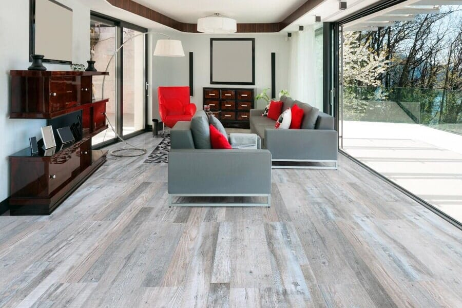 Luxury vinyl tile (LVT) flooring in Kearny, NJ from The Longest Yard