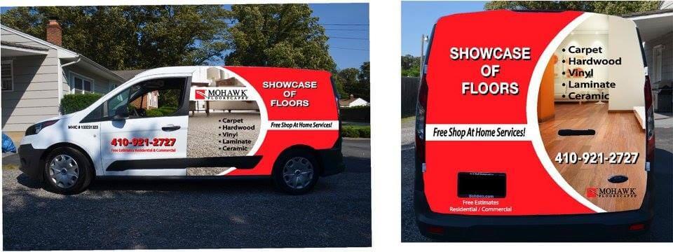 Showcase of Floors Van in Riviera Beach, MD