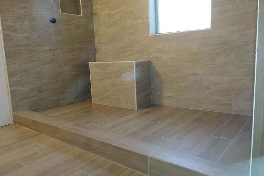 Luxury tile floors in New Lexington OH from Lavy's Flooring