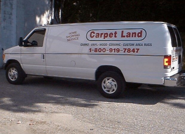 Carpet flooring installation in Catonsville, MD by Carpet Land