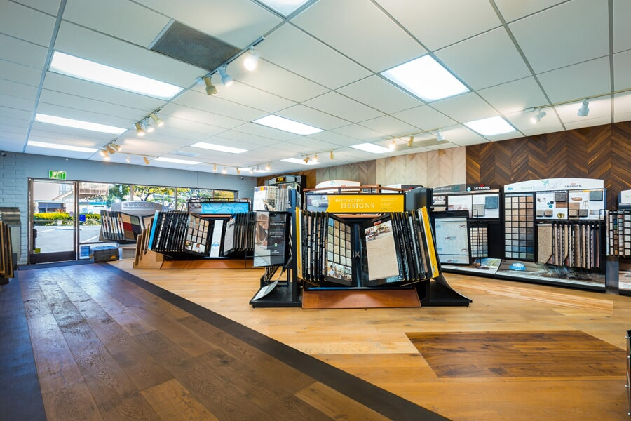 Huge flooring selection in the Carlsbad area at the showroom for America's Best Flooring
