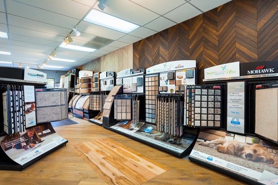 A huge stock of Mohawk Flooring in the Poway area at America's Best Flooring