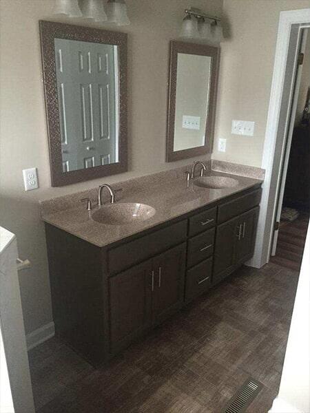 Luxury flooring remodels in Wilson NC from Richie Ballance Flooring