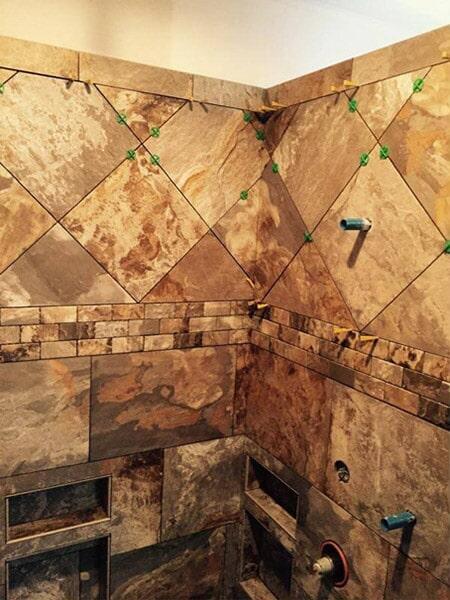 Tile bathroom transformation in Bailey NC from Richie Ballance Flooring