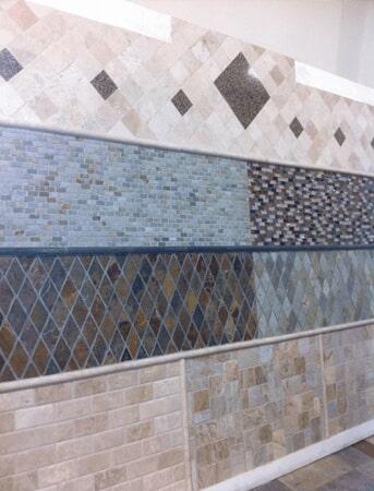 Glass tile in Denham Springs LA from Wholesale Flooring & Granite