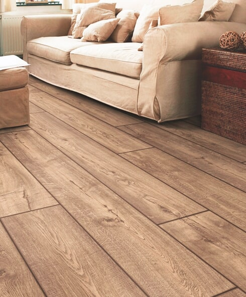 Quality laminate flooring installation in Strasburg, PA by Wall to Wall Floor Covering