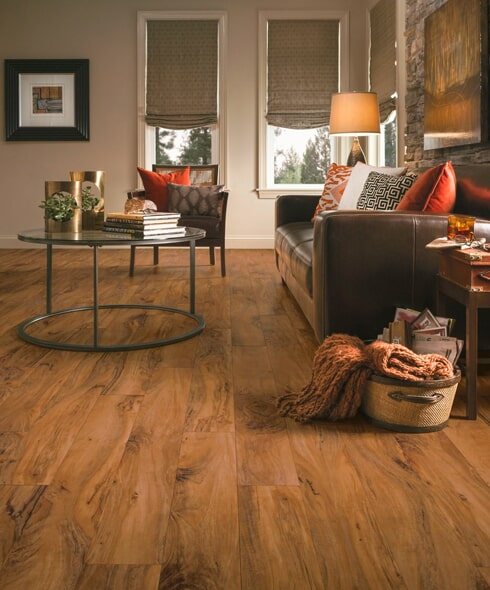 Armstrong luxury vinyl flooring in Quincy IL from Carpet & Rug Gallery