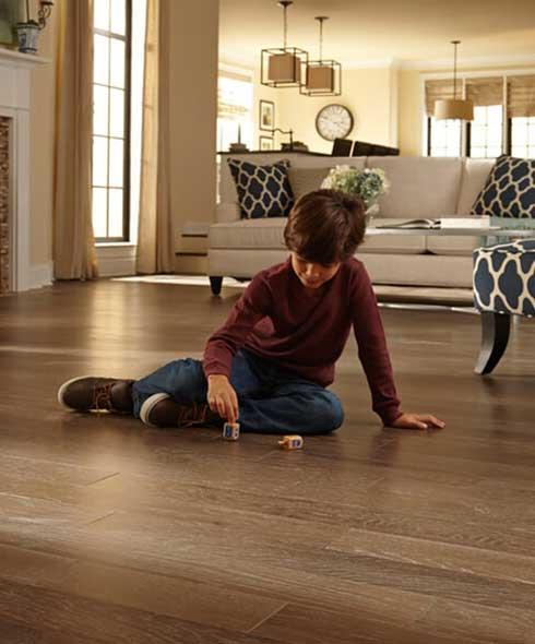 Durable hardwood floors in Calgary AB from Westvalley Carpet and Flooring