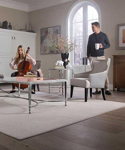 Luxury vinyl plank floors in Calgary AB from Westvalley Carpet and Flooring