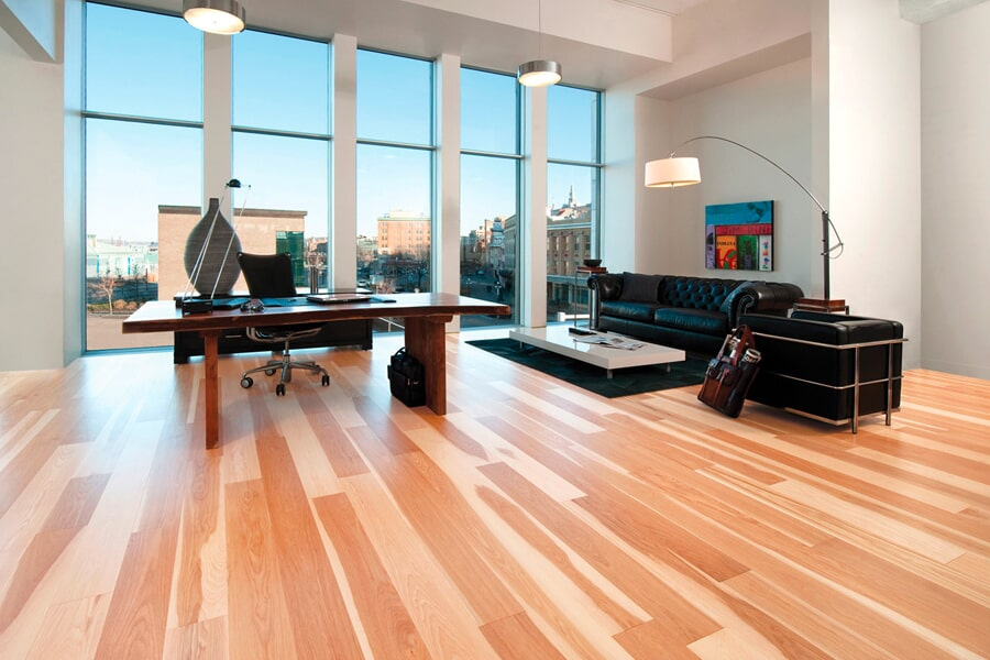 Modern hardwood flooring ideas in