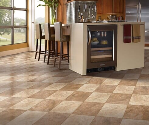 Tile flooring installation in Blue Springs MO from Blue Springs Carpet