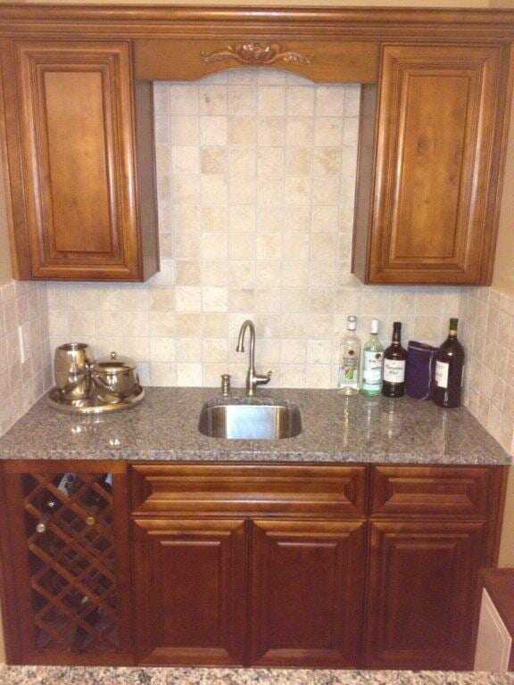 Wine cabinets in Braselton GA from Purdy Flooring & Design