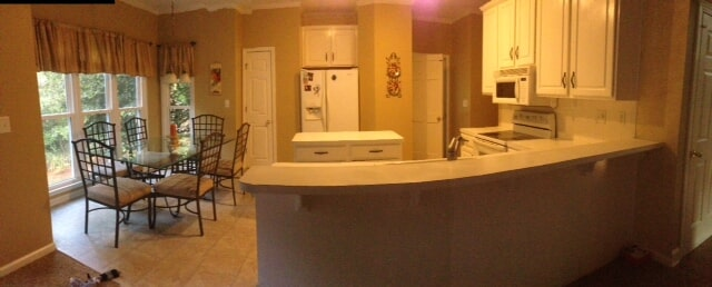 Cabinet installation in Buford GA from Purdy Flooring & Design
