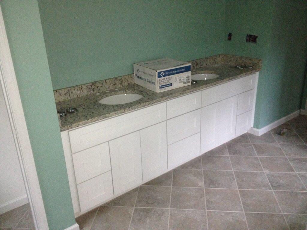 Bathroom remodeling in Suwannee GA from Purdy Flooring & Design