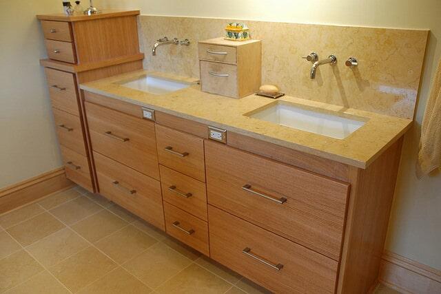 Bathroom cabinets in Buford GA from Purdy Flooring & Design