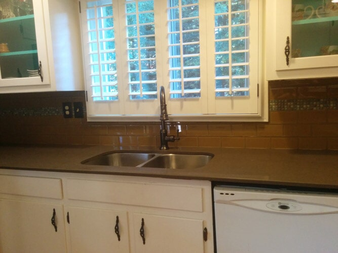 Kitchen cabinet installation in Buford GA from Purdy Flooring & Design