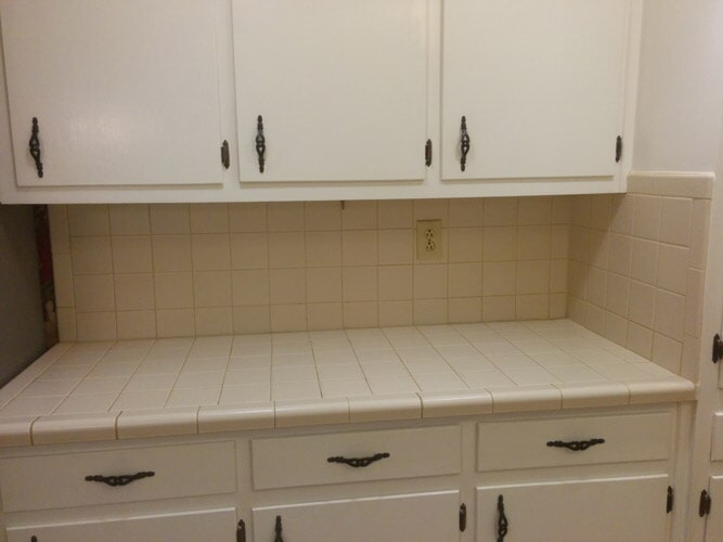 Kitchen cabinet installation in Braselton GA from Purdy Flooring & Design