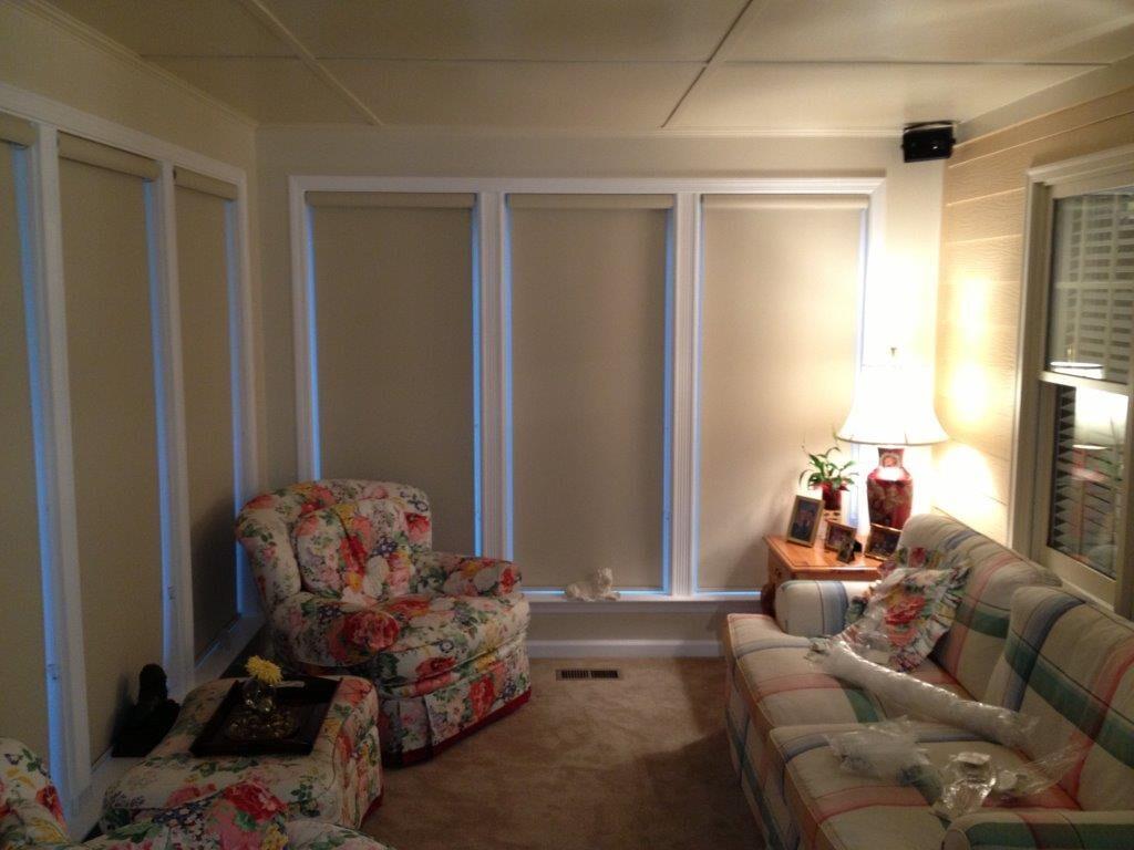 Custom shades in Buford GA from Purdy Flooring & Design