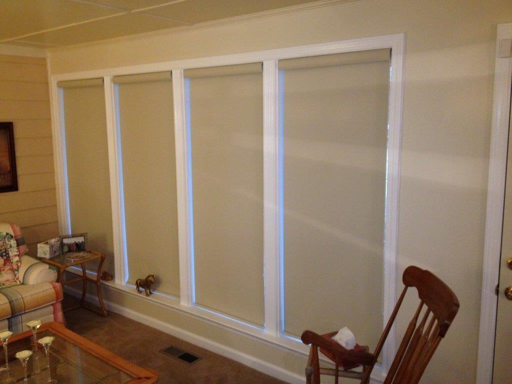 Custom interior window shades in Dacula GA from Purdy Flooring & Design